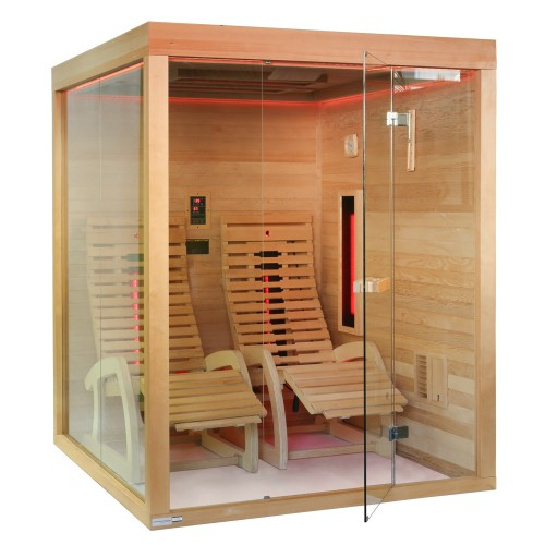 infrarotkabine sauna zanier lounger ihp fitness. Black Bedroom Furniture Sets. Home Design Ideas